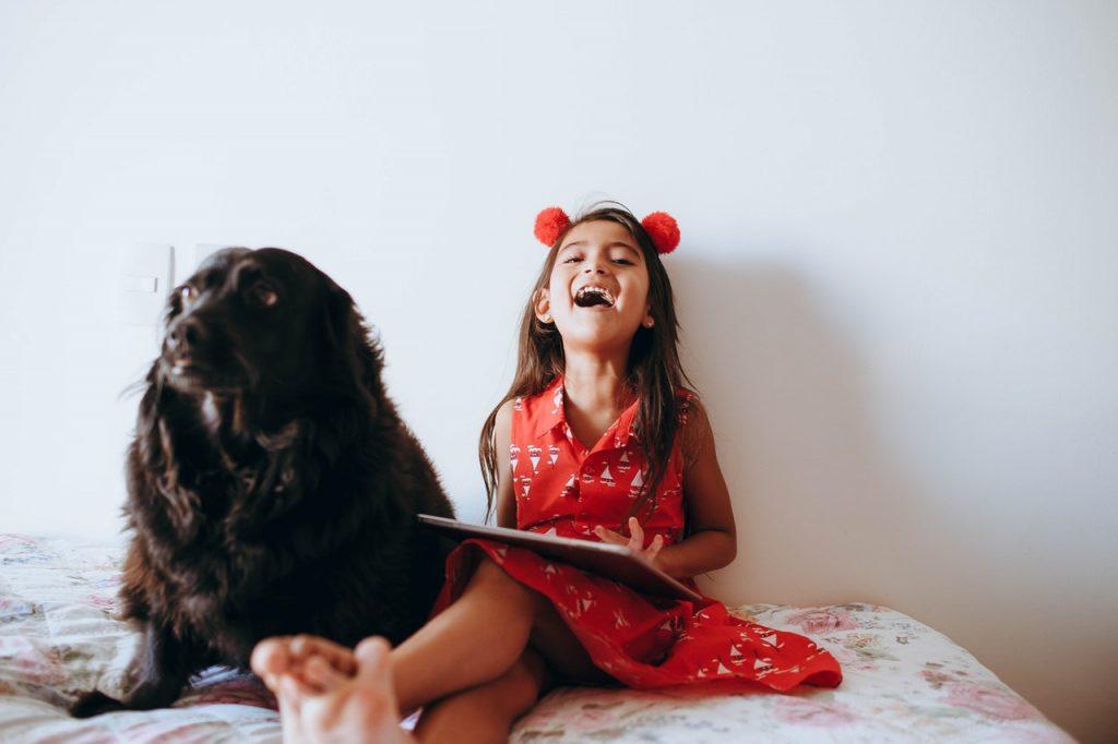 chien enfants compagnie